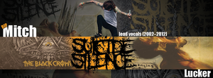 Suicide Silence - Mitch Lucker by 1stylz