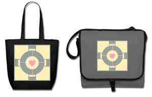 Companion Cube Bags by Enlightenup23