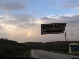 Keep Left by velutinous