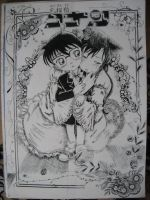 Conan and Ran by kagome94stefi