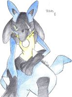 Rtas the lucario by xemmi