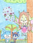 Requested: Flora The Fairy Hedgehog's Magic by MyMelodyOfTheHeart