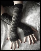 Shadow Boxer Long Arm Warmers by ZenAndCoffee