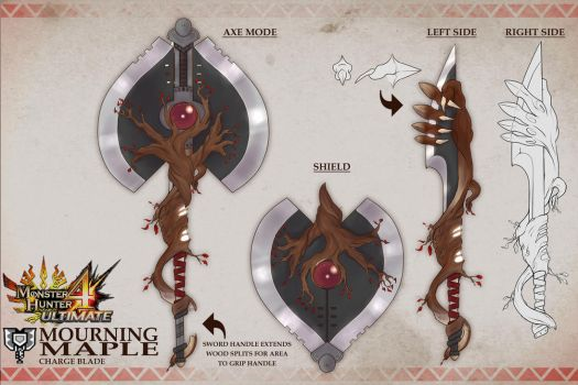 MH4U WEAPON DESIGN CONTEST ENTRY by SiegeEvans