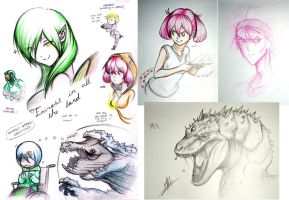 Resonance Days sketches by Men-dont-scream