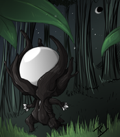 Baby Slenderman ! by TigeraRainbowra