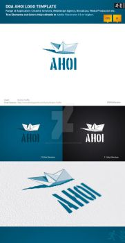 DOA Ahoi Logo Template by design-on-arrival