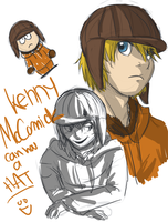 SP- Kenny can has a HAT. by SpiritLeTitan