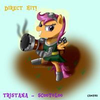Tristana - Scootoloo by Camaine