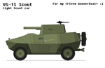 VS-TS Scout   Light Scout car by MultyInterest