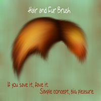 Hair and fur Brush by Enjoydotcom