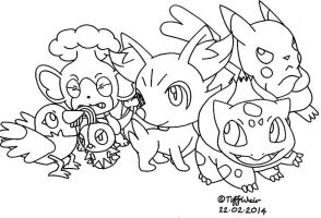 My Pokemon Party Concept by trinityweiss