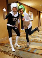ALA13-Danny Phantom and Cosmo by moonymonster