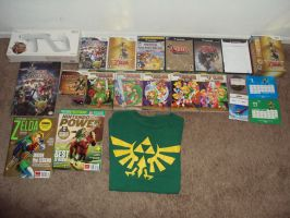 MY Zelda Collection UPDATE: APRIL 2012 by Zelda1987