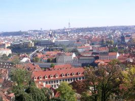 Rooftops of Prague- 5 by loverofbeauty