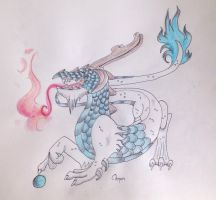 Gluecksdrache by Chequer
