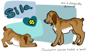 Spaniel Character by zigan-with-felines