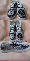 EXO shoes by entfremdet