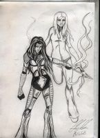 Illyria and Willow by phoenix-84