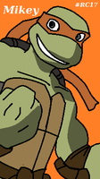 Michelangelo TMNT 2007 by RC-17