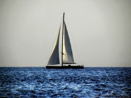 Sailboat II by YourLittleBunny