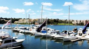Balmain across the water by CouchyCreature