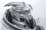 Garrus Vakarian by Crystal-Cat
