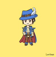 Musketeer Twisted Fate by Luctekz