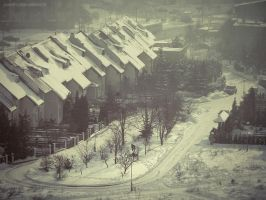 cold cold town by JoannaRzeznikowska