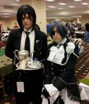 Ciel and Sebastian, DRAGON-CON 2012 by BVBArmy616