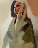 Thranduil WIP by Namecchan