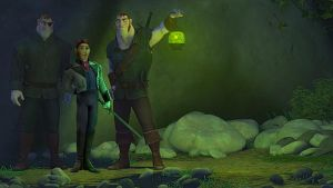 Tangled Frozen Stabbington Brothers + Prince Hans by cdpetee