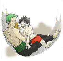Whatcha reading Zoro? by sarmander