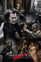Sweeney Todd Poster 1 color by ivycastle