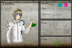 Alchemy Teacher :: HGU:: by Tsubaki-Pixel