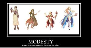 Modesty -meme- by CloudxTifaStrife