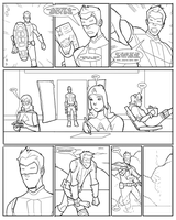 EGO-Con Passaround Comic - Page One by The-G