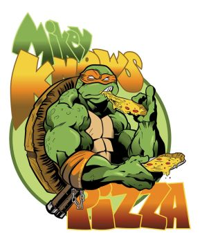 Mikey Knows Pizza by titan-415