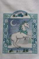 Winter Unicorn, Cross Stitch Gold issue 106 by StitchingDreams