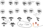 Wannabe Lip Tutorial by monobani