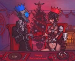 Happy Antichristmas by CyborgNecromancer