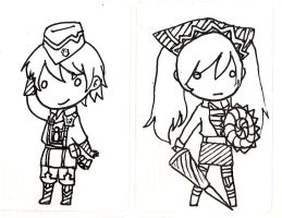 Stickers: Valkyria Chronicles by yongharn