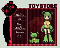 ::Toy-Store App: Beau Pryce:: by DANKEE--E