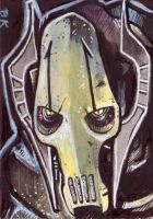 General Grievous Sketch Card by Ethrendil
