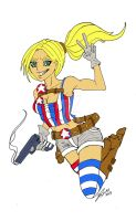 All American sketch main character by Rooks50