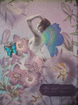 Garden Fairy Collage by jenneyc