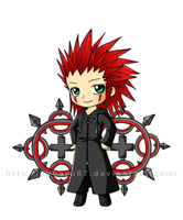 XMAS Presents - KH Axel by subaru87
