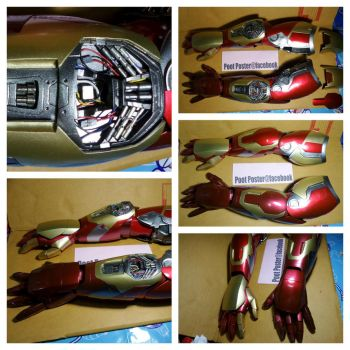 Iron man arm mark42/43 by PootPoster