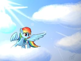 Rainbow Dash by giftry365