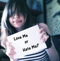 Love Me or Hate Me by DarkLucy93